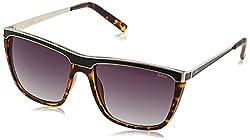 IDEE Gradient Square Unisex Sunglasses - (IDS2183C4SG 58 Purple Color)