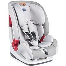 Chicco YOUniverse - Silla de coche para niños entre 0 y 3 años (9-36 kg), grupo 1-2-3, color rojo o gris