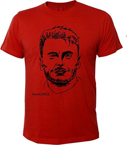 Mister Merchandise Cooles Herren T-Shirt Ciro Immobile Rot