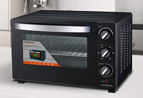 Nordmende Fornetto elettrico ventilato con capacità 30 L, Potenza 1500 W, 6 modalità di cottura,...