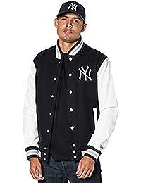 A NEW ERA York Yankees MLB Team Apparel College Varsity Jacket