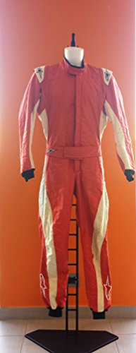 Alpinestars GP Tech Suit Red - Overall für Auto Racing - TG. 52 Alpinestars Gp Tech Racing