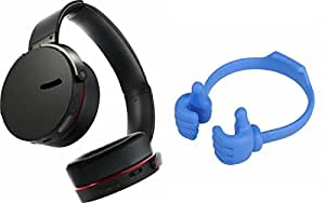 MIRZA Extra Bass XB650 Headphones & OK Stand for GIONEE CTRL V6L(Extra Bass XB 650 Headphones,With MIC,Extra Bass,Headset,Sports Headset,Wired Headset & Ok Stand,Mobile Stand)