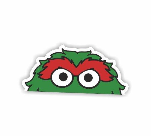 mer-vue-stickers-peeping-oskar-sesame-street-autocollant-de-voiture