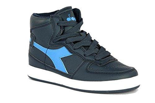 Asics Herren Aaron Sneaker Grau  Blu Marino/Bianco