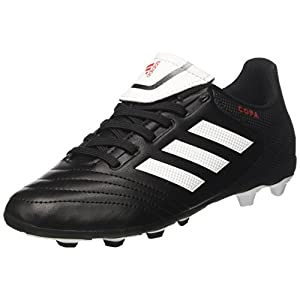 quality design 412b3 72569 adidas Copa 17.4 Fxg, Chaussures de Football Mixte Enfant, Noir (Core Black Footwear  White Core Black), 37 1 3 EU