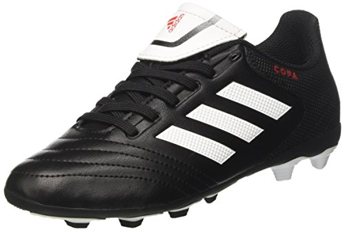 adidas Kaiser 5 Team, Chaussures de Football pour Homme - Multicolore - Multicolore (Black-White), 45 EU EU
