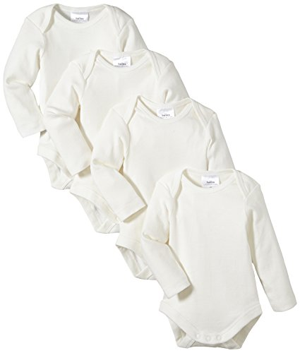Twins - Body Bebés, pack de 4, Blanco (Snow White), 86 (12-18 meses)