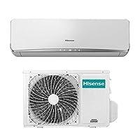 Condizionatore Hisense New Eco Easy 12000 Btu A++ Gas R-32 Climatizzatore Inverter 2018 Garanzia 5 Anni Mono Split Raffreddamento Riscaldamento in Pompa di Calore Deumidificatore Detrazione Fiscale Installazione Parete Funzione i-FEEL: Il sen...