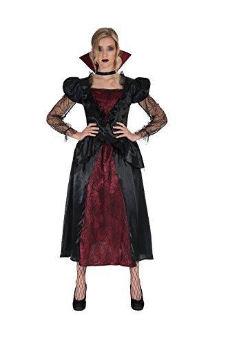 Monster Vampire Queen Kostüm Größe XL Damen Halloween Vampir Königin 50204