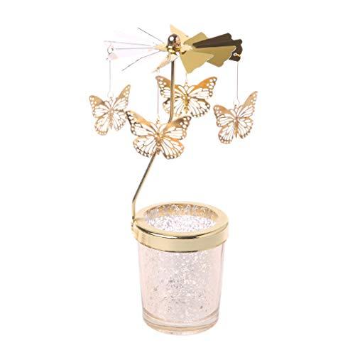 Valcano Weihnachtskarussell Teelicht Kerzenhalter-Center Home Decor Geschenke