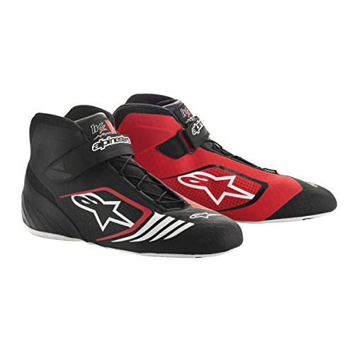Alpinestars 2712118-12B-11 Tech 1-KX Shoes, Black/White, Size 11