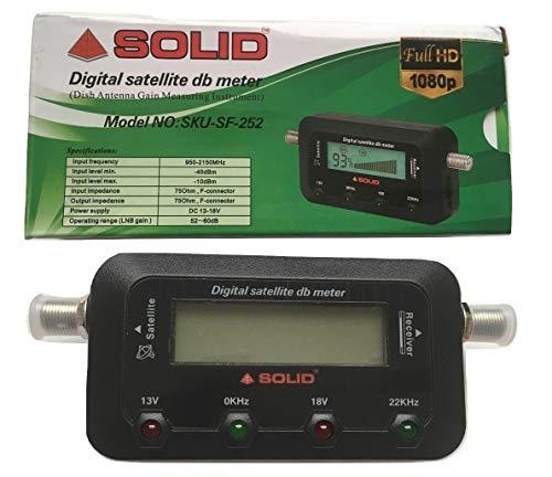 Sundaram & Co Retail Solid SF-252 Digital Satellite Db Meter