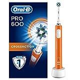 Oral-B Pro 600 Crossaction Braun Spazzolino Elettrico Ricaricabile