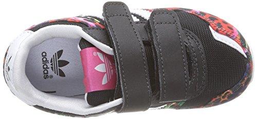 Adidas Zx 700 Cf I Scarpe Sportive, Unisex Bambino Cblack/Ftwwht/Ftwwht