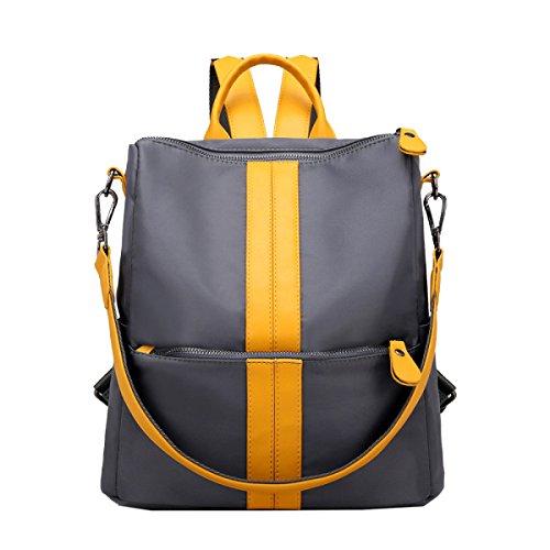 Yy.f Nuova Tela Di Modo Sacchetto Di Nylon Borse Oxford Multifunzionale Sacchetto Di Spalla Di Spalla Big Bag Lato Selvaggio Colore 2 Yellow