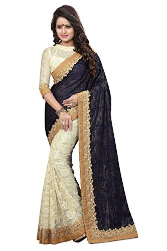 Chigy Whigy Black Velvet party wear Sarees