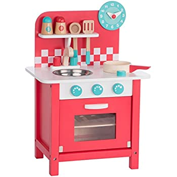 wooden toy kitchen accessories ultrakidz wooden play kitchen charly made of wood 1651