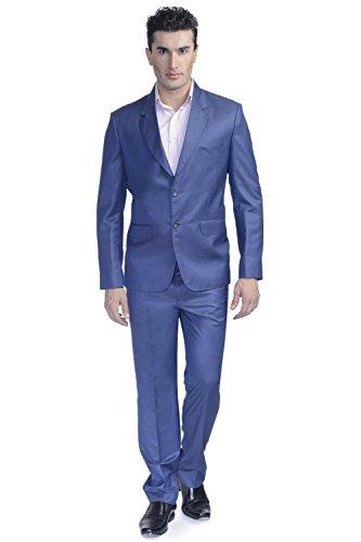 LUXURAZI - Veste de smoking - Homme Bleu - Persian Blue