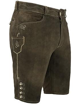Michaelax-Fashion-Trade Spieth & Wensky - Herren Trachten Lederhose, Kurt (009625-0311)