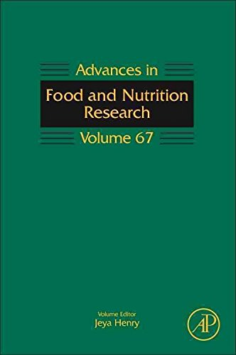 [(Advances in Food and Nutrition Research: Volume 67)] [Series edited by Steve Taylor] published on (November, 2012)