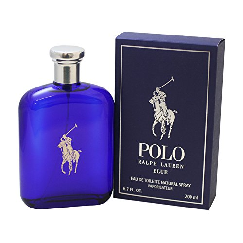 Ralph Lauren Polo Blue 200 ml Eau de Toilette Spray für Ihn, 1er Pack (1 x 200 ml)