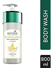 Biotique Honey Cream Rejuvenating Body Wash, 800ml
