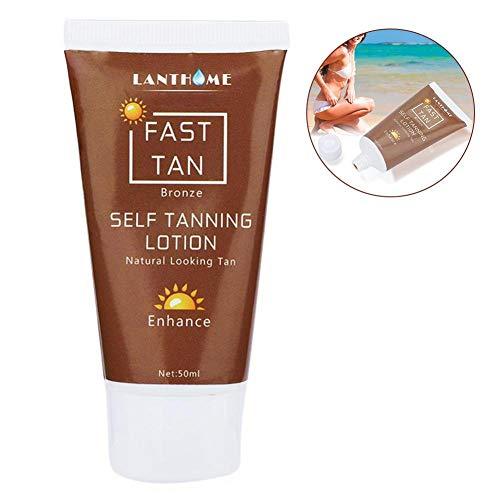 Self Tanner Selbstbräunungslotion Bronze Auto Sun Tan Creme Bräune Enhance Day Bronzer Natürliches Sonnen-Display Tan für Körper und Gesicht -