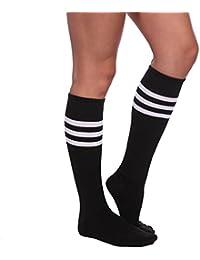 Pair de chaussette sport bas collant pom pom girl cheer leader deguisement 7 couleur