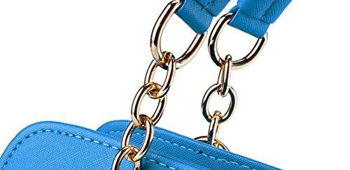 Modelli Estivi Ms. Borse Marea Catena Tracolla Moda Femminile Bag Messenger Blue1