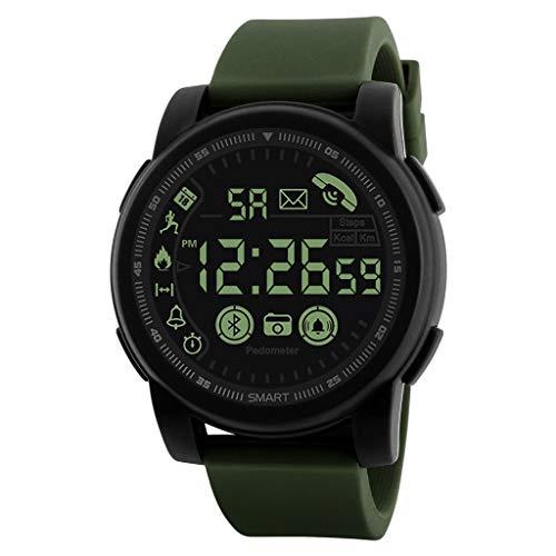 Montre Intelligente Bluetooth Smartwatch Sport Smart Bracelet connectée Etanche Fitness Trackers d'activité avec Écran Tactile