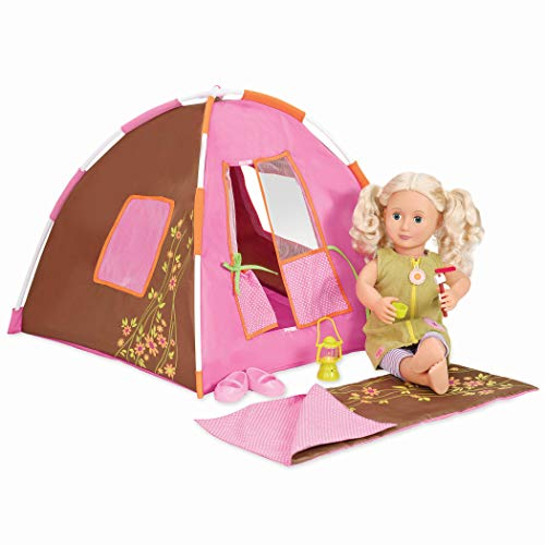 Our Generation- Barbie Set di Accessori da Campeggio per Bambole, Colore Unico, BD37050Z
