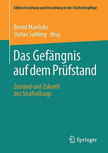 Das Gefängnis auf dem Prüfstand: Zustand und Zukunft des Strafvollzugs (Edition Forschung und Entwicklung in der Strafrechtspflege)