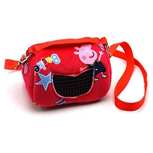 haijiao Haustier Ausflugstasche Kleines Haustier Eichhörnchen Meerschweinchen Honig Tasche, holländische Schwein zum Mitnehmen Tasche, Large_Custom Made