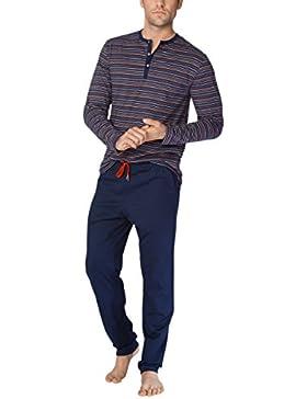 Calida Josh Herren Pyjama, Conjuntos de Pijama para Hombre