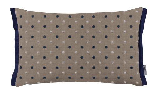 Tom Tailor 575098 Dots Funda de cojín (30x50 cm), diseño de lunares, color rosa y gris