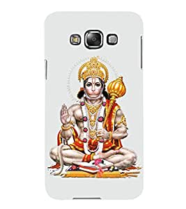 HiFi Designer Phone Back Case Cover Samsung Galaxy E5 (2015) :: Samsung Galaxy E5 Duos :: Samsung Galaxy E5 E500F E500H E500Hq E500M E500F/Ds E500H/Ds E500M/Ds ( Jai Hunuman Hindu God Of Strength Design )
