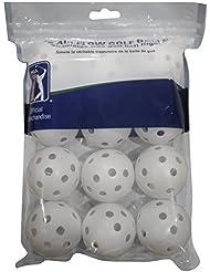 PGA Tour PGAT146 - Pack de 12 pelotas de golf, color blanco