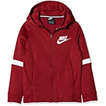 Nike B NSW JKT Tribute FA18 Chaqueta, Niños, Rojo (Team Red/White