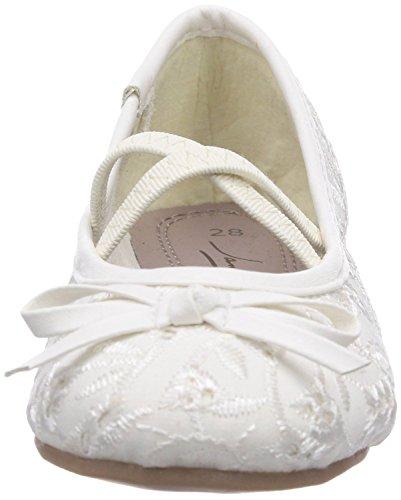 Indigo  Ballerinas, Bride cheville fille Blanc - Blanc