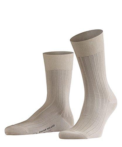 Preisvergleich Produktbild FALKE Herren Socken 14683 Milano Business SO,  Gr. 41 / 42,  Beige (sand 4320)