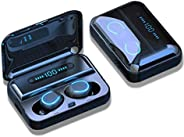 True wireless earbuds 2000mAh LCD Display F9 5.0 TWS IPX5 Waterproof Touch Control Bluetooth v 5.0 Earphones M