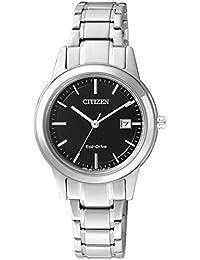 Citizen Damen-Armbanduhr XS Analog Quarz Edelstahl FE1081-59E