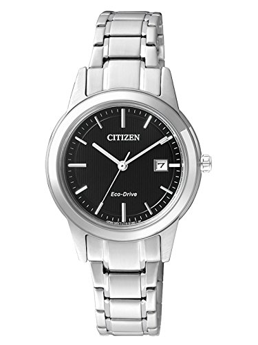 Damen Eco-drive Citizen Uhr (Citizen Damen-Armbanduhr XS Analog Quarz Edelstahl FE1081-59E)