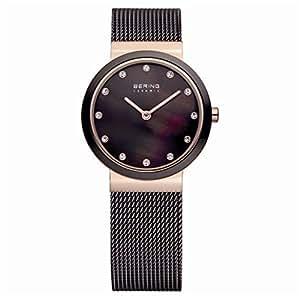 Bering Time - 10725-262 - Montre Femme - Quartz - Analogique - Bracelet Acier Inoxydable Gris
