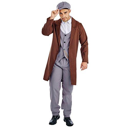 20er-Jahre Englischer Gangster Peaky Blinders Kostüm Herren