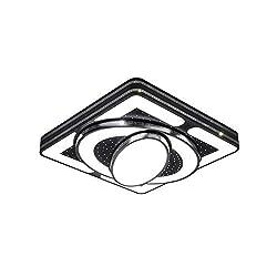 Froadp 64W Kinderzimmerlampe Deckenleuchte Raumschiff Modellierung Acryl-Schirm Lackierte Metallrahmen Schlafzimmer Lounge Esszimmer(64W Kaltweiß, Weiß)