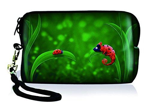 Silent Monsters 1005002007 Neopren Universal Kameratasche für Kompaktkamera Ladybird