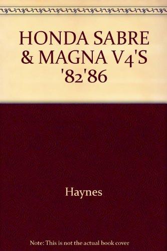 HONDA SABRE & MAGNA V4'S '82'86