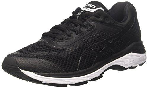 Asics Men's Gt-2000 6 Running Shoes, (Blackwhitecarbon 9001), 7.5 Uk 42 Eu